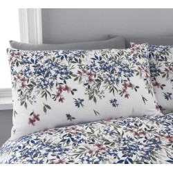 Dreams n Drapes Malinda Chambray Duvet Cover Sets and Coordinates