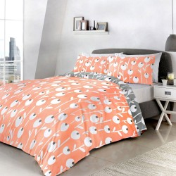 Fusion Alabar Coral Duvet Cover Sets and Coordinates