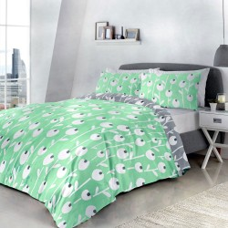 Fusion Alabar Mint Duvet Cover Sets and Coordinates