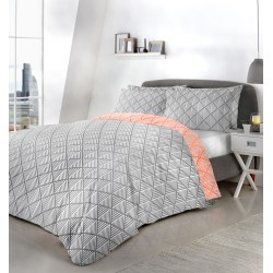 Fusion Brooklyn Grey Duvet Cover Sets and Coordinates