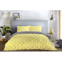 Fusion Brooklyn Ochre Duvet Cover Sets and Coordinates