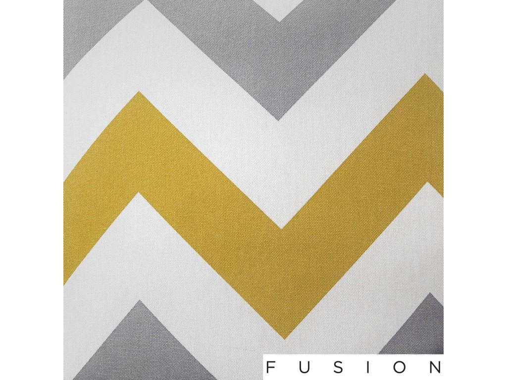 Fusion Chevron 100% Cotton Lined Curtains Window Treatments & Hardware Curtains, Drapes & Valances