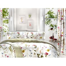 Dreams n Drapes Spring Glade Pencil Pleat Lined Curtains
