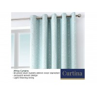 Curtina Africa Duckegg Eyelet Curtains and Cushions