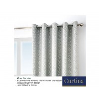 Curtina Africa Stone Eyelet Curtains and Cushions