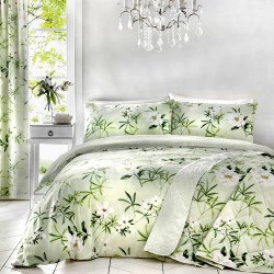Dreams n Drapes Florence Green Duvet Cover Sets and Coordinates
