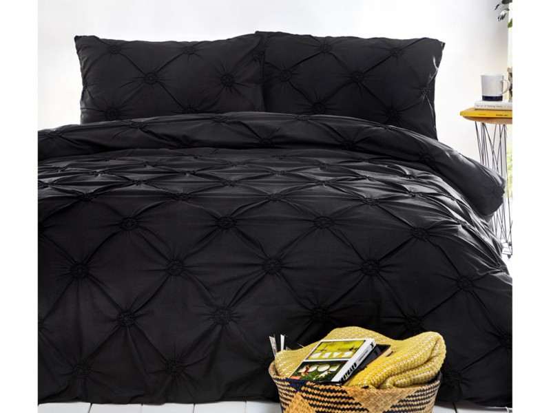 Signature Elissa Black Duvet Cover Sets