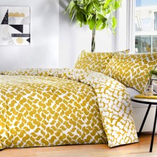 Appletree Eton Ochre Duvet Cover Sets