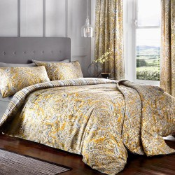 Dreams n Drapes Maduri Ochre Duvet Cover Sets and Coordinates