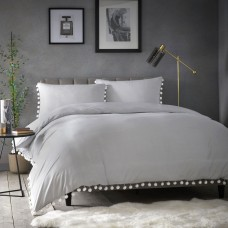 Appletree Signature Pearl Silver Duvet Cover Sets