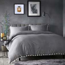 Appletree Signature Pearl Slate Duvet Cover Sets