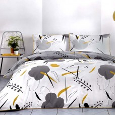 Appletree Raphael Grey & Ochre Duvet Cover Sets