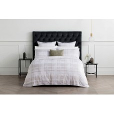 Sheridan New Crispin Ash Duvet Cover Sets & Euro Pillowcase