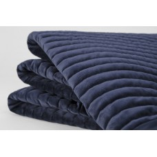 Sheridan New Eastdown Velvet Midnight Throw