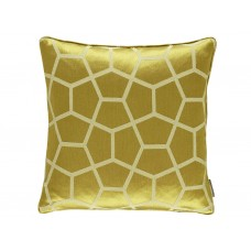 Harlequin New Glyptic Chartreuse Cushion