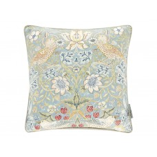 Morris & Co New Strawberry Thief Slate/Vellum Cushion