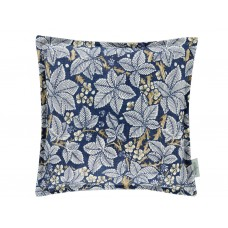 Morris & Co New Bramble Indigo/ Mineral Cushion