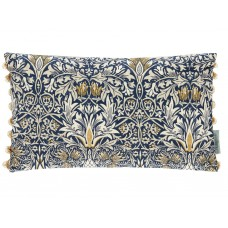 Morris & Co New Snakeshead Indigo/Hemp Cushion