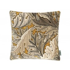 Morris & Co New Acanthus Velvet Mustard/Grey Cushions