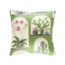 Sanderson New The Glasshouse Terrariums Cushion