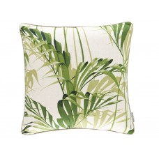 Sanderson New The Glasshouse Palm House Botanical Green Cushion