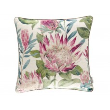 Sanderson New The Glasshouse King Protea Rhodera Cushion