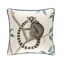 Sanderson New The Glasshouse Ring Tailed Lemur Cushion