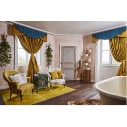 The Chateau by Angel Strawbridge Oriental Garden Bamboo Curtains