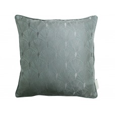 The Chateau by Angel Strawbridge Blakely Filled Azure Cushion