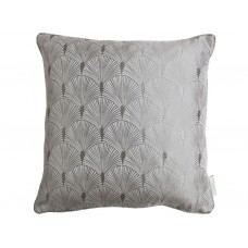 The Chateau by Angel Strawbridge Blakely Filled Silver Cushion