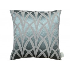 The Chateau by Angel Strawbridge Broadway Filled Azure Cushion