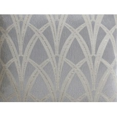 The Chateau by Angel Strawbridge Broadway Fabric by The Meter Silver