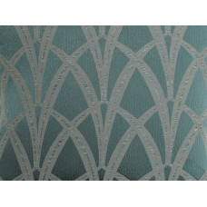 The Chateau by Angel Strawbridge Broadway Fabric by The Meter Teal