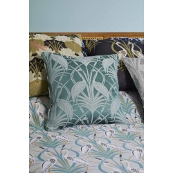 The Chateau by Angel Strawbridge Deco Heron Filled Cushion Collection