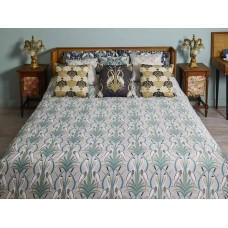 The Chateau by Angel Strawbridge Heron On The Moat Duvet Cover Sets Grey