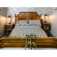 The Chateau by Angel Strawbridge Nouveau Heron Navy Duvet Cover Sets