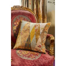 The Chateau by Angel Strawbridge Wallpaper Museum Filled Cream Cushion