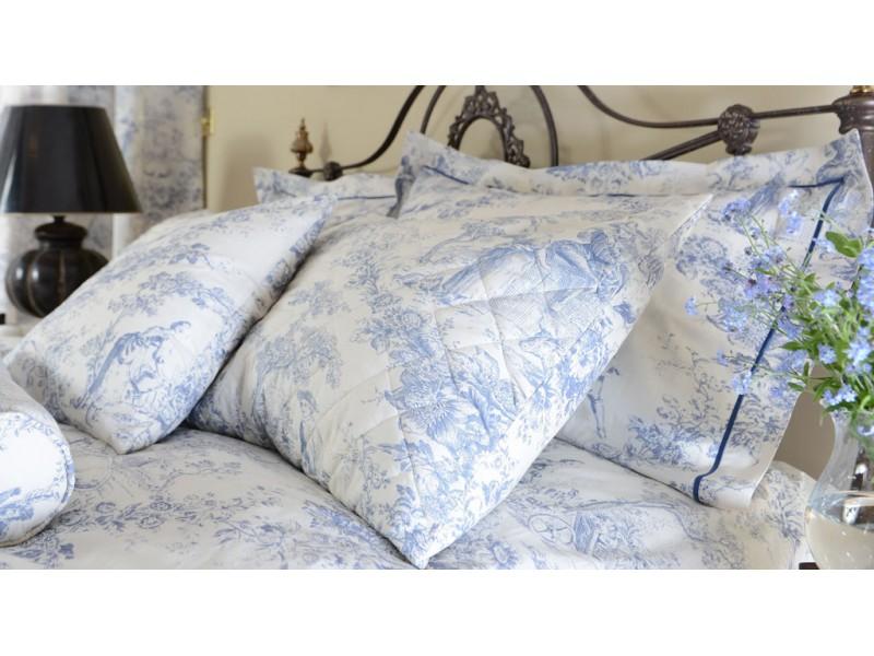 Toile De Jouy China Blue Pillowcases
