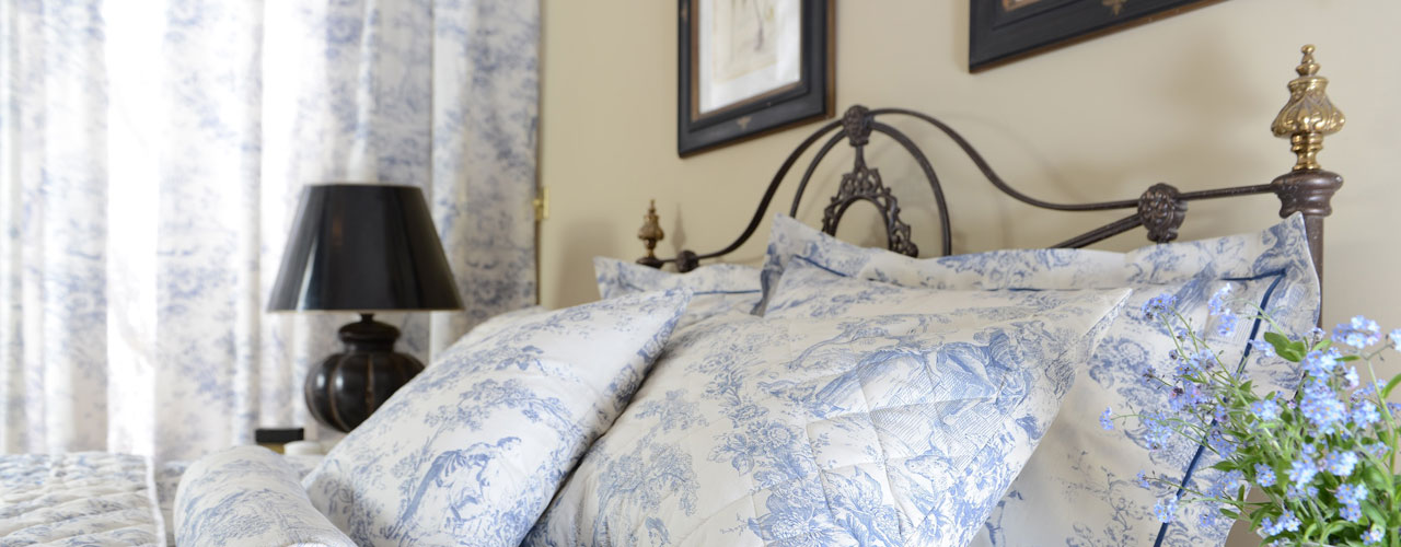 Toile De Jouy China Blue Bedlinen
