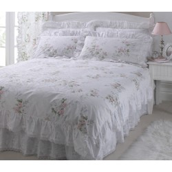 Vantona Charlotte Pink Duvet Cover Sets and Coordinates