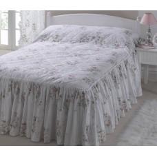 Vantona Charlotte Pink Floral Fitted Bedspreads