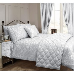 Vantona Como Silver Duvet Cover Sets and Coordinates