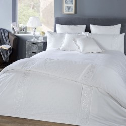 Vantona Florence White Duvet Cover Sets and Accessories