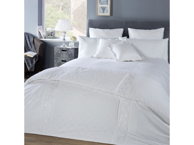 Vantona Florence White Duvet Cover Sets
