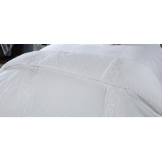 Vantona Florence White Bedspread