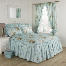 Vantona Madeleine Duckegg Floral Fitted Bedspreads