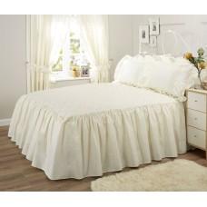 Vantona Monique Cream Fitted Bedspreads