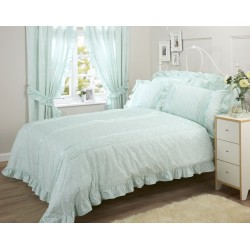Vantona Monique Mint Duvet Cover Sets and Coordinates