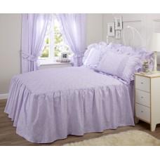 Vantona Monique Lilac Fitted Bedspreads