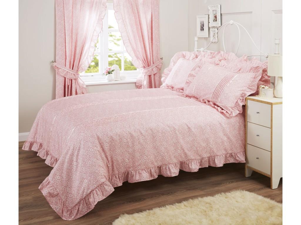 Vantona Monique Pink Duvet Cover Sets